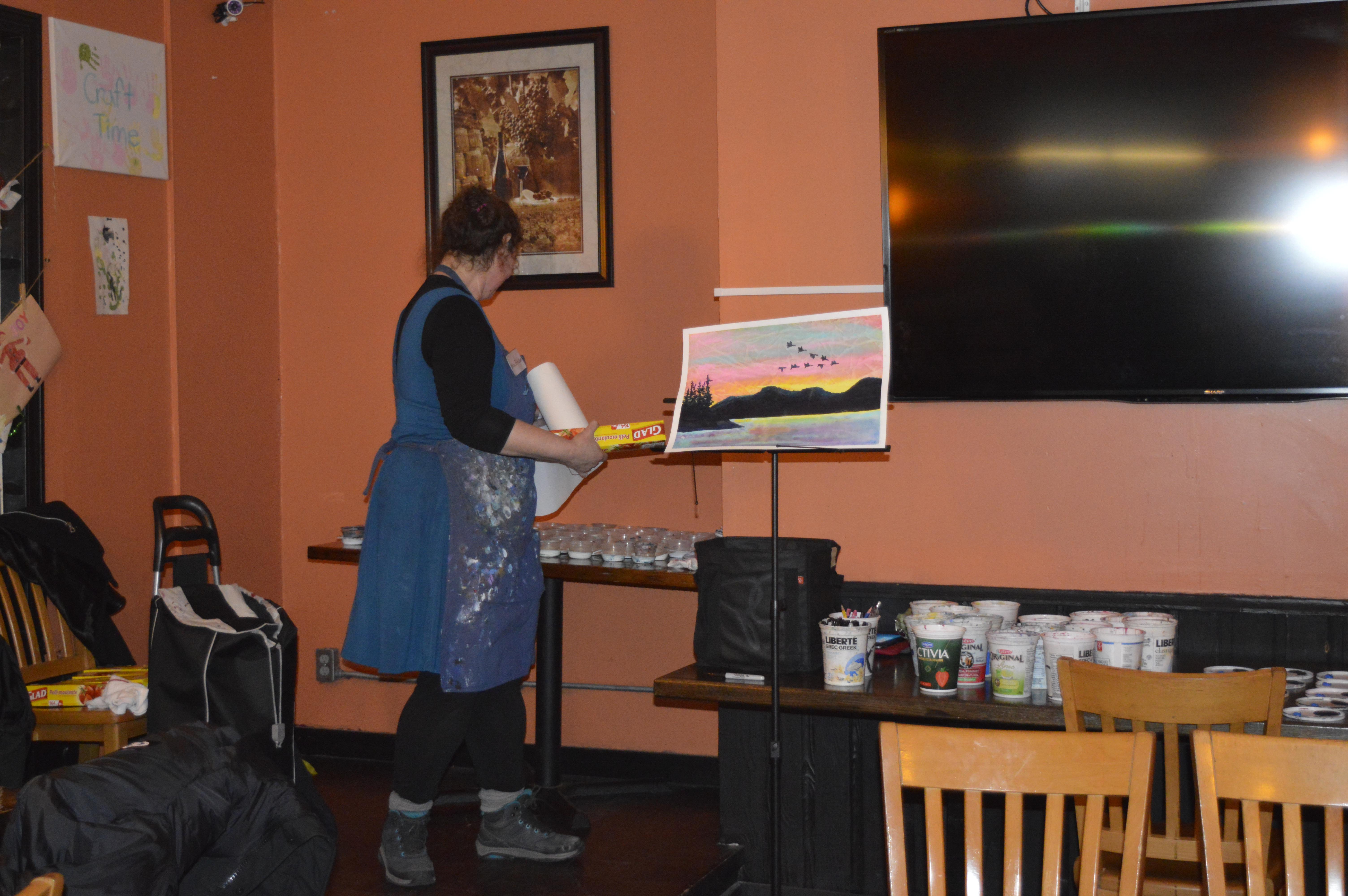 Paint Night - March 8 2018
